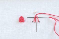Picot Stitch embroidery