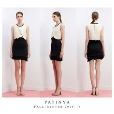 PATINYA RTW, FW2015-16 Collection. Look 50 : Avalon top Size: Freesize Color: Blue, Pink, Nude Fabric: Pique  Bruges skirt Size: S,M,L Color: Black, Blue, Pink Fabric: Pique @patinya_official @guitarpatinya www.patinyabkk.com #patinya #patinyaofficial #patinyabkk #fashion #dress #dresses #THAIDESIGNERS #theoptimisticvibes