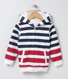 Jaqueta infantil    Manga longa    Com capuz    Listrada    Marca: Póim    Tecido: moletom             COLEÇÃO VERÃO 2017         Veja outras opções de    jaquetas infantis.            Póim Menino         Sabemos que de 1 a 4 anos de idade, o que vale é o gosto da mamãe. E pensando nisso, a Lojas Renner, possui a marca Póim, com macacão, camisetas, camisas, calça jeans e muito mais outros produtos cheio de estilo, tudo com muita informação de moda e tendências para os baixinhos!