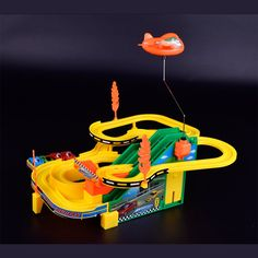39.99$  Buy here - http://aic8p.worlditems.win/all/product.php?id=32801335056 - Electric music track racing car/DIY assembled parking car car toys/baby toys for children/toy/rc car/lepin technic/hot wheels/or