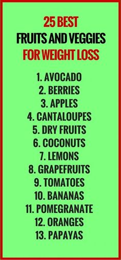 25-Best-Fruits-and-Veggies-for-Weight-Loss