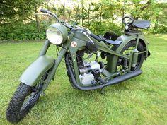 EMW R35 350 Bj 1952 teilrestauriert wie BMW R35 Oldtimer Militär Wertanlage NVA