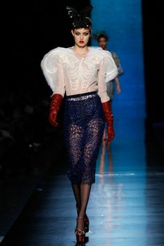 Jean Paul Gautier couture, spring/summer 2014
