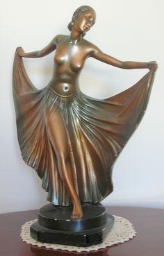 Leonardi Bronzed Plaster Figure.  £125.00 www.homedecouk.com