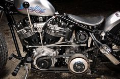 Harley Bobber, Harley Davidson Chopper, Harley Bikes, Bobber Chopper, Harley Davidson Motorcycles, Custom Motorcycles, Custom Bikes, Custom Bobber, Indian Motorcycles