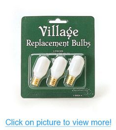 Department 56 Accessories for Department 56 Village Collections Replacement Light Bulb