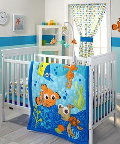 Another great find on #zulily! Finding Nemo Three-Piece Comforter Set #zulilyfinds