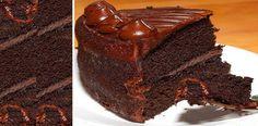 Hoyte enseñamos cómohacerTORTA DE CHOCOLATE HÚMEDA: ES DE 1/4 DE KILO. INGREDIENTES 2-TAZAS DE HARINA DE LA QUE TENGAN 2-TAZAS DE AZÚCAR NORMAL 2-CUCHARADAS DE POLVO PARA HORNEAR 3/4-TAZAS DE CA… Torta Matilda, Cupcake Cookies, Cupcakes, Sin Gluten, Confectionery, Pound Cake, Deli, Nutella, Chocolate Cake