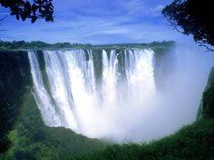 As 50 mais belas cachoeiras naturais do mundo   -Cataratas Victoria