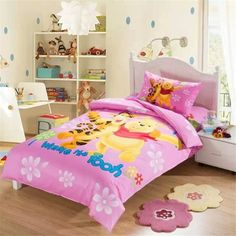 Classic Winnie The Pooh Bedding Pink Bedding Sets Baby
