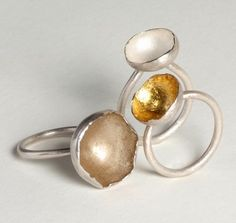 Laura Bennett - Contemporary Jeweller - Dome Series