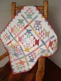 November's quilt pattern was Picnic. I loved making the variety of baskets this pattern called for.
