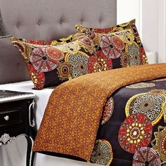 Shop for Superior Sunburst 3-piece Cotton Duvet Cover Set. Get free shipping at Overstock.com - Your Online Fashion Bedding Outlet Store! Get 5% in rewards with Club O! - 16406876