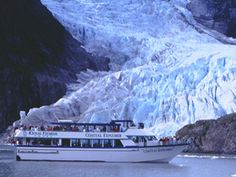 Kenai Fjords Tours - Alaska.  The glaciers and Humpback whales are so awesome!