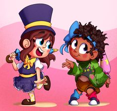 Kids Tumblr, A Hat In Time, Turn Blue, Best Dad, Video Games, Waiting, Bows, Play, Children