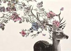 Afbeeldingsresultaat voor tekeningen van herten