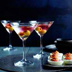 Bloody Eyeball Martinis