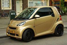 Smart ForTwo Ten Gold Edition - Foto Jim Appelmelk