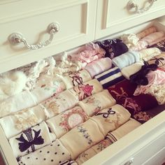 looks so cozy ♡ organized sock drawer Bedroom Inspo, Bedroom Decor, Dream Bedroom, Home Organization, Wardrobe Organisation, My Room, Decoration, Bed Pillows, Shabby Chic