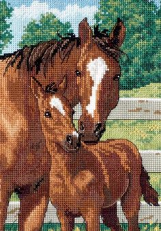 """Dimensions Gold Collection Petite Mothers Pride Counted Cross Stitch K - 5"""" X 7"""" $9.34"""