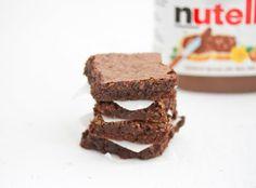 Flourless Nutella Brownies | Kirbie's Cravings | A San Diego food blog