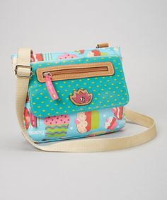 Love this Lily Bloom Bake Sale Paige Crossbody Bag by Lily Bloom on #zulily! #zulilyfinds