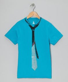 Stratos Fall Faux Tie Tee - Toddler & Boys by Warrior Poet on #zulily #cutiestyle