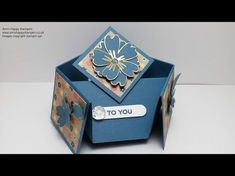 Ann's Happy Stampers: Stampin Up! Double Diamond Fold Card/New Tri Fold Cards, Slider Cards, Fancy Fold Cards, Folded Cards, Z Cards, Magic Cards, Pop Up Cards, Cute Cards, Craft Cards