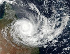 On March 28 at 03:42 UTC (1:42 p.m. AEST Queensland local time /Mar. 27 at 11:42 p.m. EST) NASA-NOAA's Suomi NPP satellite captured this visible image of Tropical Cyclone Debbie over eastern Australia.