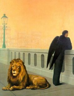 Homesickness, by Rene Magritte