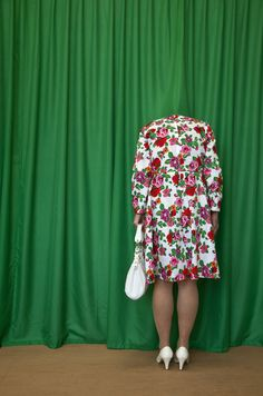 Guda Koster, 2014, Behind the curtains, photoprint