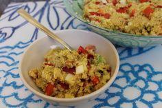 Mis Recetas Anticáncer: Ensalada de Quinoa con verduritas y Nueces