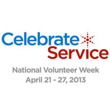 National Volunteer Week is about inspiring, recognizing and encouraging people to seek out imaginative ways to engage in their communities.