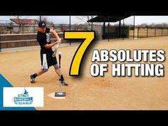 The 7 Absolutes of Baseball Hitting Baseball Videos, Baseball Stuff, Baseball Hitting Drills, Baseball Training, Best Positions, Softball, Coaching, Basketball Court, Youtube