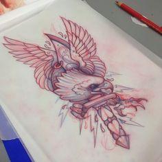 Tattoo Artwork by Mitch Allenden
