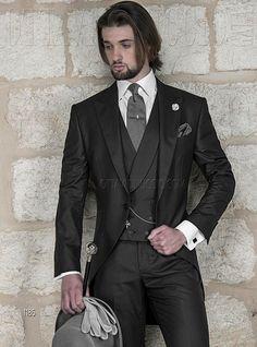 """Morning Dress Code""  #Gentleman Collection #BritishStyle Bespoke #MadeinItaly Online http://www.ottavionuccio.com/it/completo/ongala-1185.html"