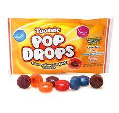Tootsie Pop Drops Candy Packs: 24-Piece Box