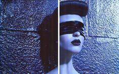 Vogue Nippon September 2008 / Kiss of Death / Georgina Stojiljkovic / Miles Aldrige Miles Aldridge, Kiss Of Death, Editorial Fashion, Style Inspiration, Masquerades, Artwork, Fashion Editorials, Campaign, September