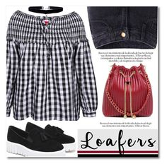 """Loafers"" by svijetlana ❤ liked on Polyvore featuring loafers and polyvoreeditorial"