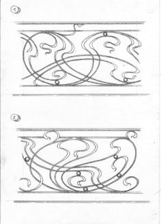 Art Nouveau Flowers, Blacksmith Projects, Fantasy House, Art Nouveau Design, Iron Work, Art Nouveau Jewelry, Blacksmithing, Designs To Draw, Wrought Iron