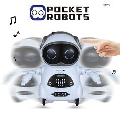 Robot toy helps the person in spending time with themselves and they also help in making listening to music and providing light. Intelligent Robot, Rc Robot, Waterproof Speaker, Gift Box Packaging, Light Eyes, Feeling Lonely, Gaming Accessories, Cute Toys, Party Items