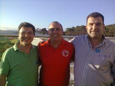 Eu, Silvio Fortunato e Rui Ramos