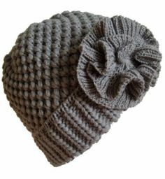 Amazon.com: Frost Hats Winter Hat for Women GRAY Girl Teen's Winter Thick Knit Beanie Ski Hat Frost Hats One Size Gray: Clothing