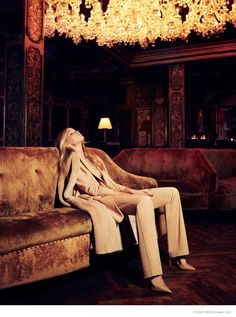 Elsa Hosk is Glam in Neutrals for Vogue Mexico September 2014 by Jason Kim