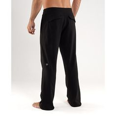 Lululemon Men's Kung Fu pants Lululemon Men's Kung Fu Pants in great condition. Continuous drawstring at inner waist cut off, other than that excellent condition. lululemon athletica Pants