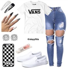 Cute Outfits With Light Wash Jeans; Cute Outfits For School In Summer unless Cute Outfits Going Out Cute Outfits With Light Wash Jeans; Cute Outfits For School In Summer unless Cute Outfits Going Out Cute Lazy Outfits, Casual School Outfits, Baddie Outfits Casual, Swag Outfits For Girls, Teenage Girl Outfits, Cute Swag Outfits, Teen Fashion Outfits, Fashion Models, Casual Teen Fashion