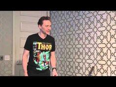 ▶ Tom Hiddleston - Dance in 'SlumberParty' (MTV) - YouTube