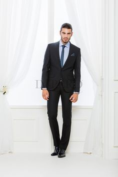 BA 922-16 #sposo #groom #suit #abito #wedding #matrimonio #nozze #nero #black