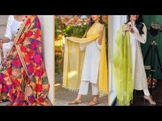 Latest white kurti/ kurta with colourful dupatta looks - YouTube Latest Kurti Design LATEST KURTI DESIGN |  #FASHION #EDUCRATSWEB | In this article, you can see photos & images. Moreover, you can see new wallpapers, pics, images, and pictures for free download. On top of that, you can see other  pictures & photos for download. For more images visit my website and download photos.