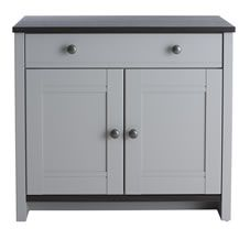 Clovelly Compact Sideboard Grey